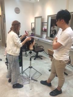 テストに向けて|上三川町 しらさぎ 美容室ソーヴ(hair solve)