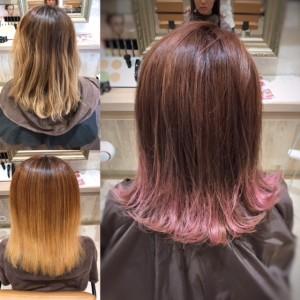 ☆ブリーチ5回以上の髪にRブリーチ☆|上三川町 しらさぎ 美容室ソーヴ(hair solve)