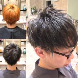 ☆メンズのハイトーンカラー☆|上三川町 しらさぎ 美容室ソーヴ(hair solve)