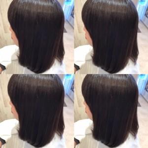 ☆久しぶりの縮毛矯正☆|上三川町 しらさぎ 美容室ソーヴ(hair solve)