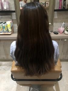 ☆カットモデル☆|上三川町 しらさぎ 美容室ソーヴ(hair solve)