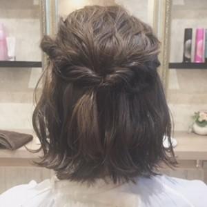 ☆ボブのヘアセット☆|上三川町 しらさぎ 美容室ソーヴ(hair solve)